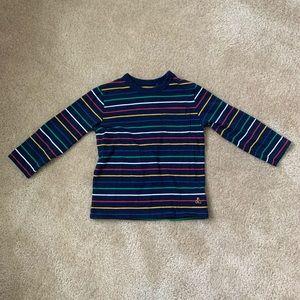 NWOT GAP Little Boy's Striped Long Sleeved Shirt!